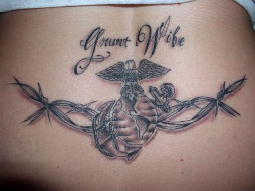 Barbed Wire Tat: ThePanday: Barbed Wire Tattoos