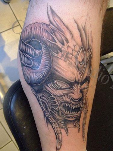 Demon Tattoos: Tattoo Disasters: Demon Tattoos