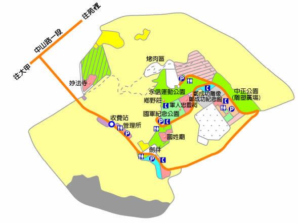 永信運動公園(李天德無界花園): 交通資訊