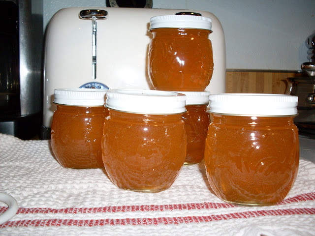 Rose Hip Jelly, from organic roses.