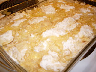 Vanilla Apple Crisp, different and delicious!