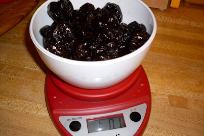 Prunes Poached in Red Wine and Cinnamon