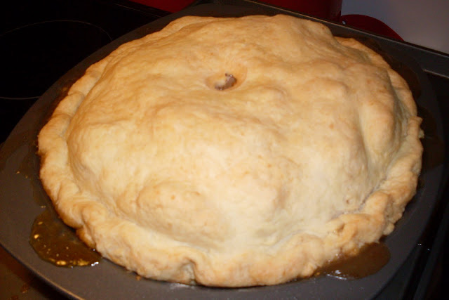 Real old fashioned apple pie