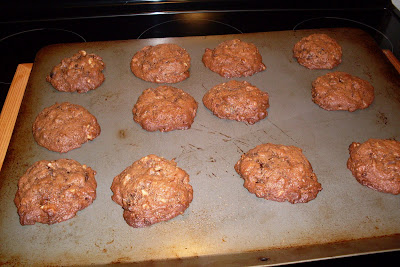 Chewy Chocolate Cookies with a secret ingredient.