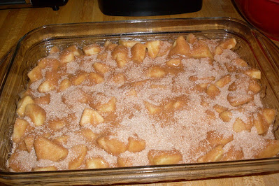 Done, Mary's favorite Raw Apple Cake, @ Creative Writing from the Heart.