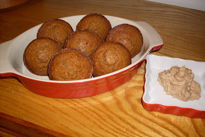 Delicious Graham Cracker Muffins with Brown Sugar Cinnamon Butter