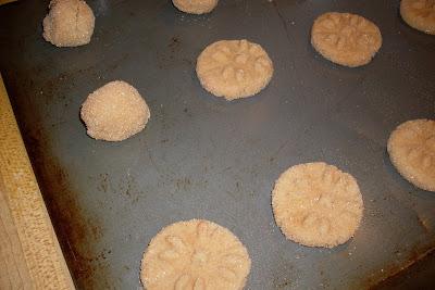 Cinnamon Flats, a delicious cinnamon infused cookie.