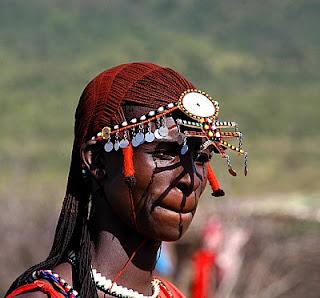 Inter Natural Hair Masai Tribe