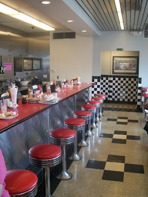 1950s retro diner St Louis Missouri