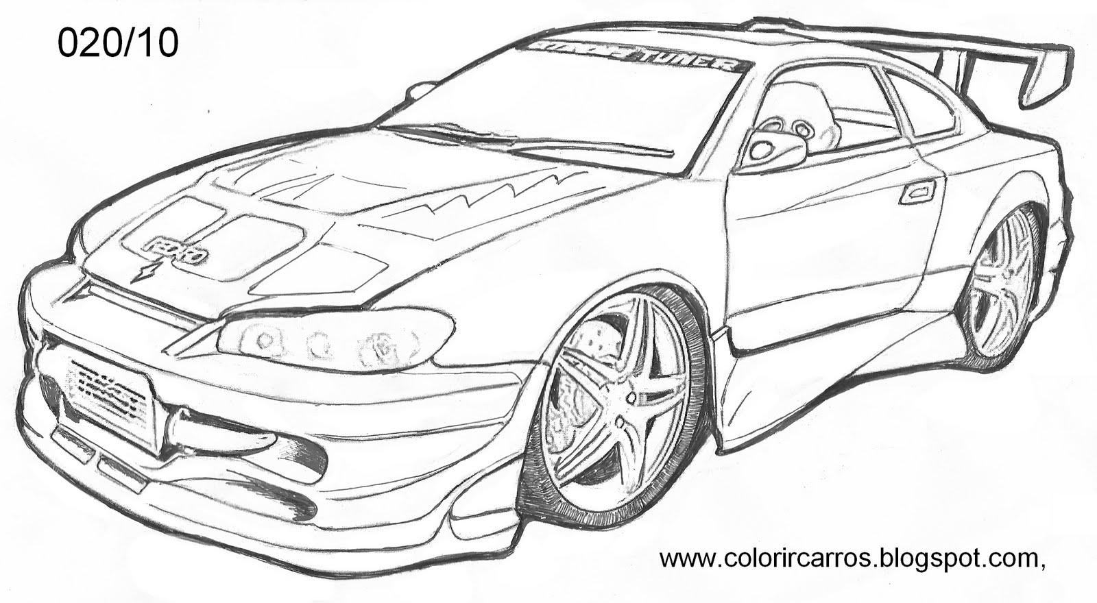 Comaro Free Coloring Pages