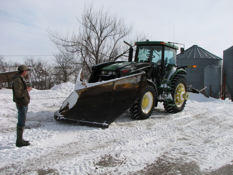 Try out plow