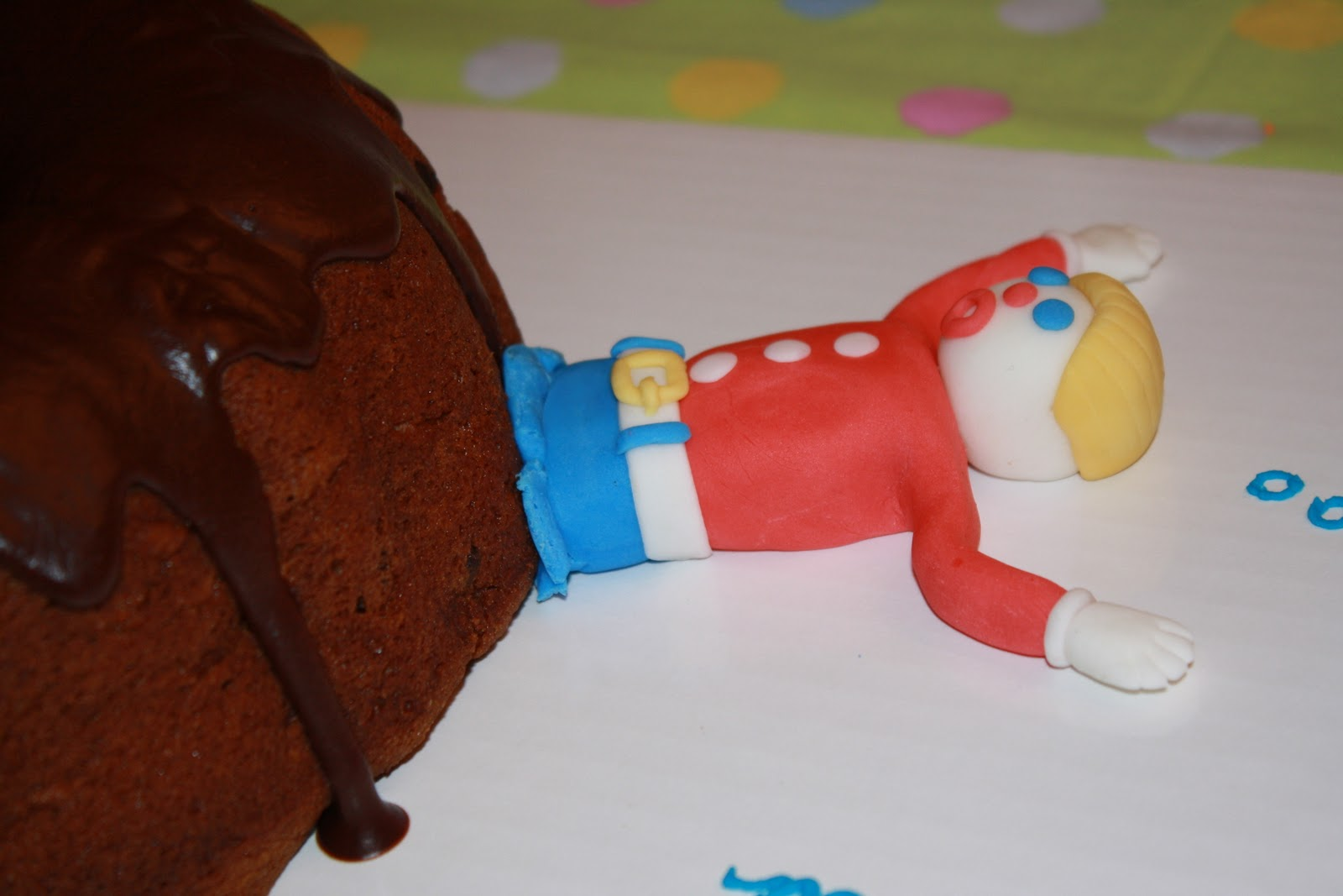 Dazzle Cakes Mr Bill Cake
