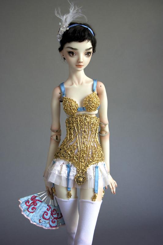 Sunny Side Up: Dolls by Marina Bychkova