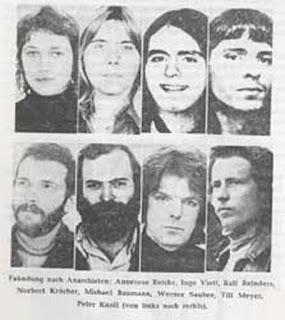 Resultado de imagen de banda terrorista baader meinhof