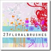 Free Nature And Floral Photoshop Brush Sets