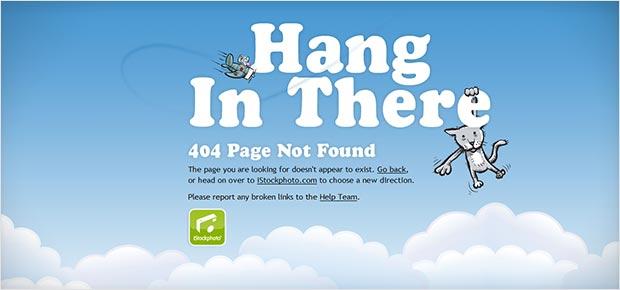 Creative 404 Error Pages Design