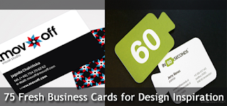 Fresh Business Cards for Design Inspiration