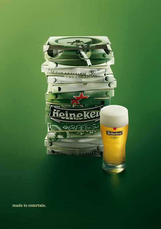 Cool Beer Ads #1 - Heineken