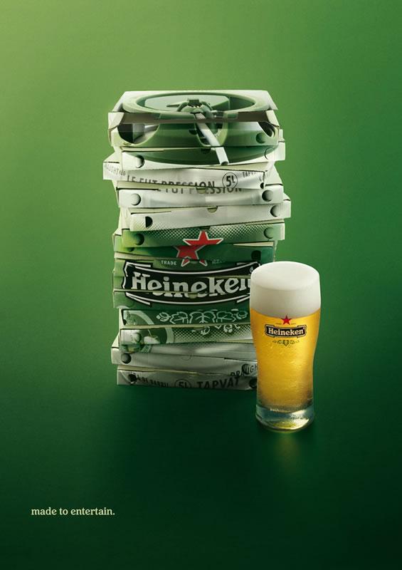 Cool Beer Ads #1 - Heineken