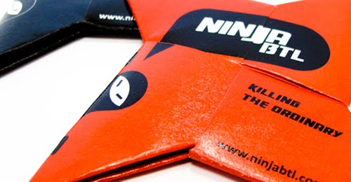 NinjaBTL business card
