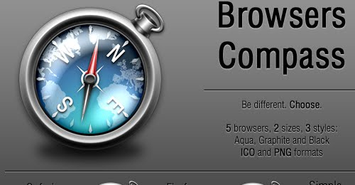 Browsers Compass Icon Pack