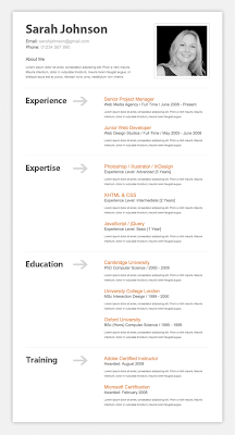 How To Design a Clean and Professional Resume / CV Website