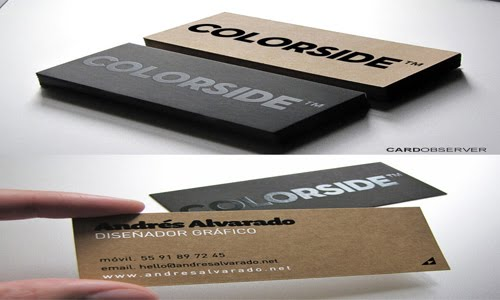 Colorside Business Card design
