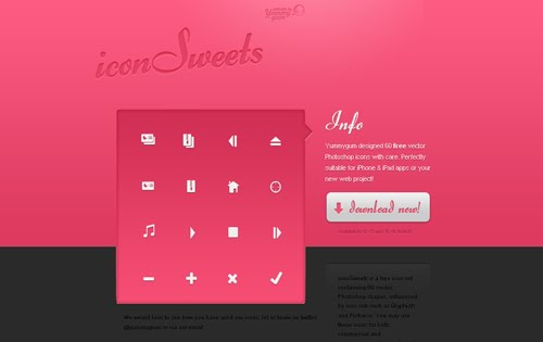 Excellent Icon Sets for Application Design