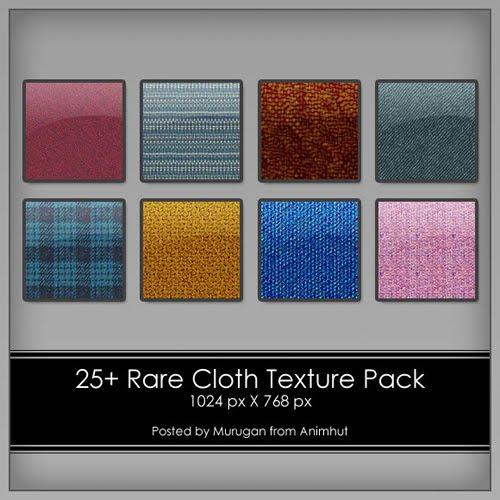 Rare Cloth Texture pack