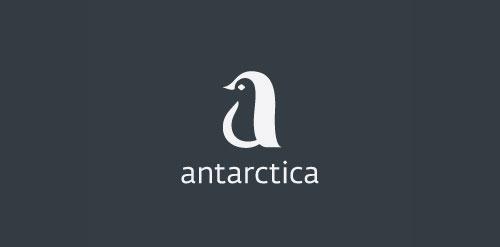 Antarctica logo design