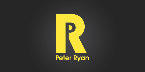 Peter Ryan logo design