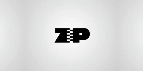 Zip logo design