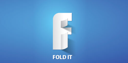 Fold It logo design