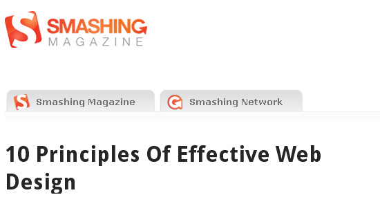 Principles Of Effective Web Design
