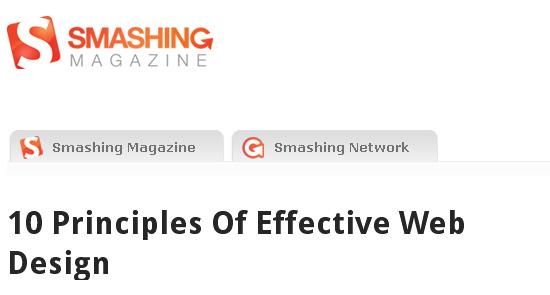 Principles Of Effective Web Design