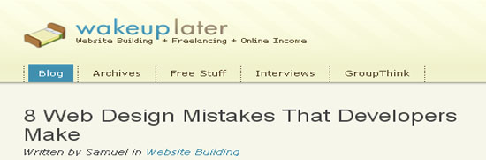Web Design Mistakes That Developers Make