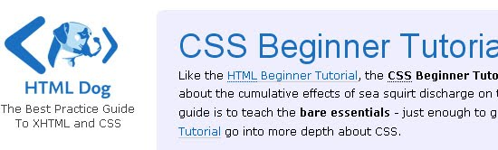 CSS Beginner Tutorial