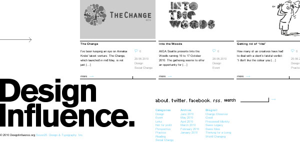 Design Influence