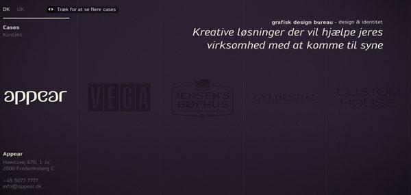 Appear web design