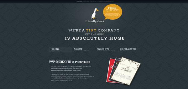 Bythepond web design