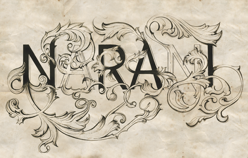 Typography by Narani Kannan