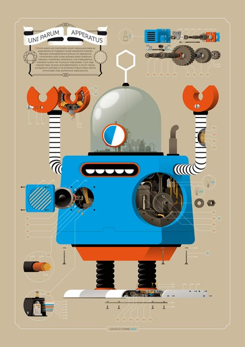 Robots by Loulou & Tummie