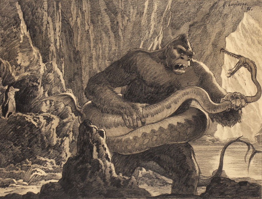 Anonymous Works: Original 1933 King Kong Production Art