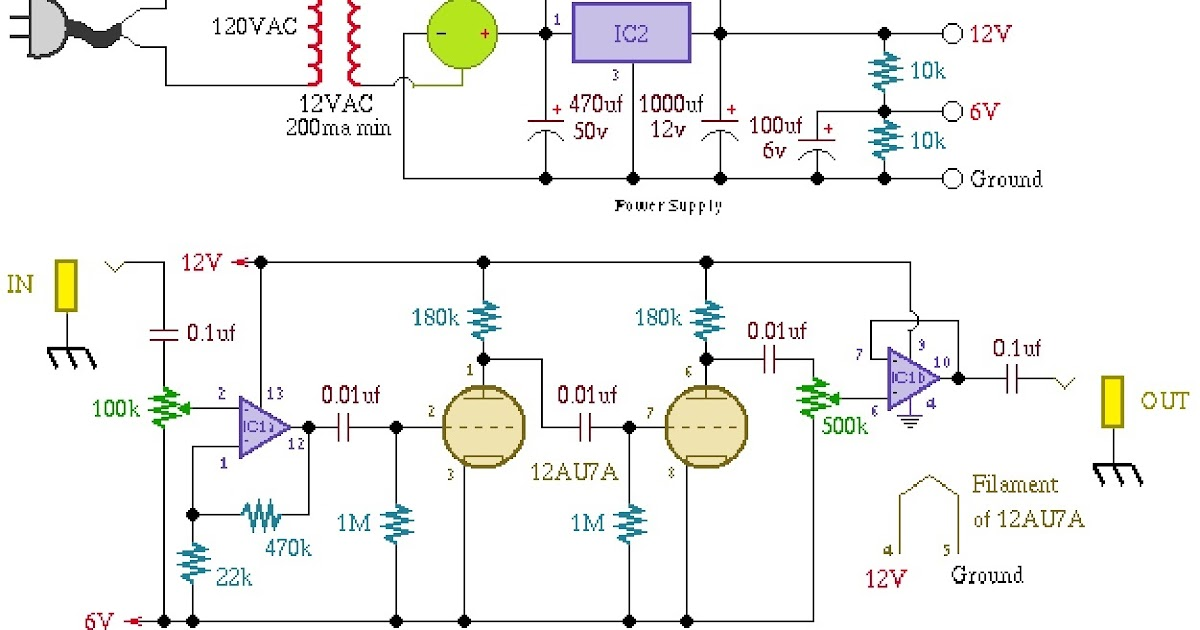 TUBE+DISTORTION  Band Equalizer Schematic on car audio 31, w2ihy 2,