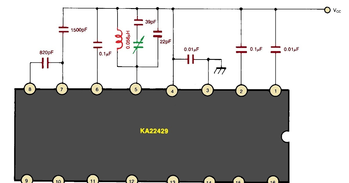 Wireless Fm Receiver Circuit Communicationcircuit Circuit Diagram