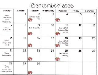 Calendar September 2008