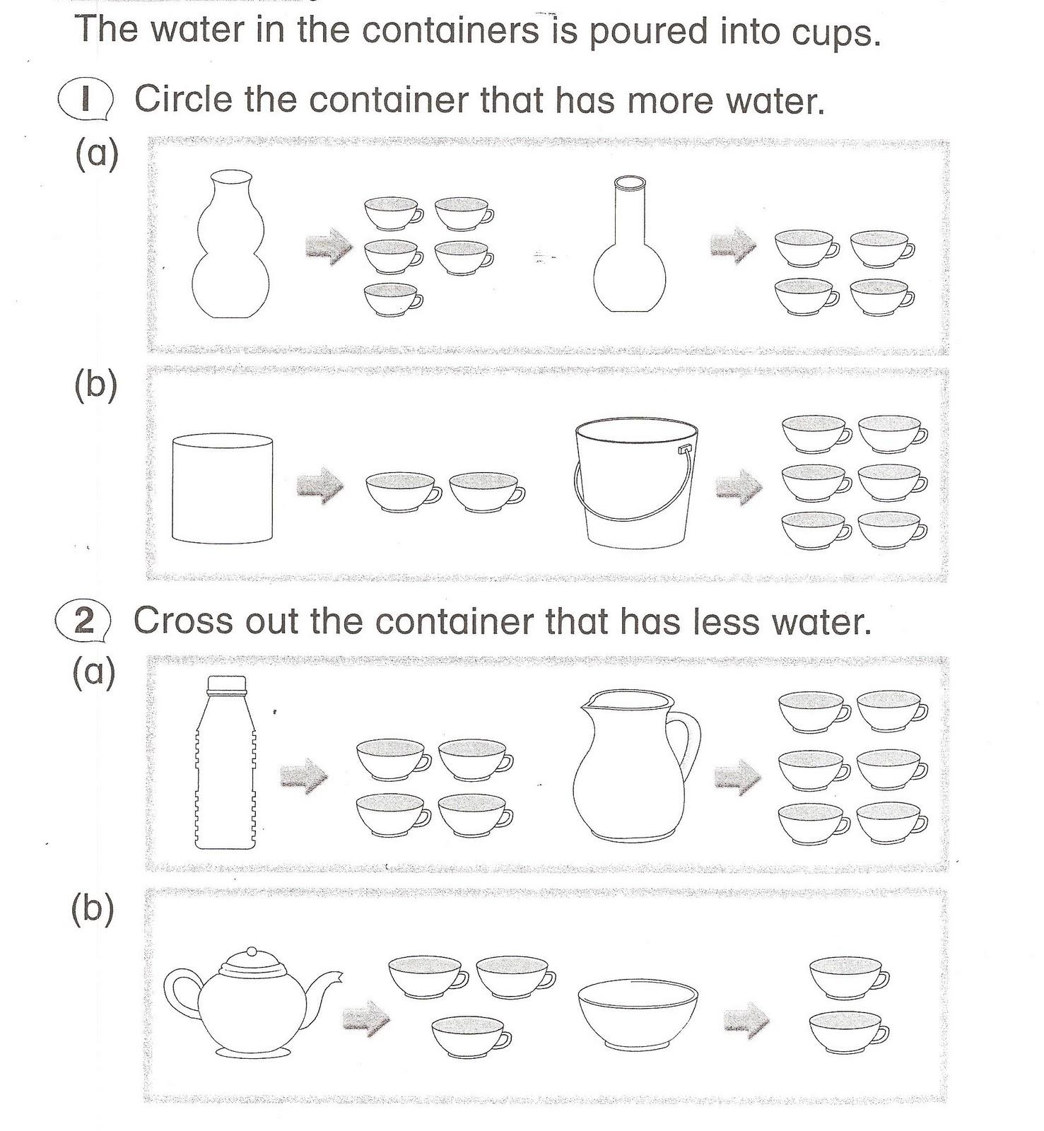 Volume Of Liquid 3 1 Topic 1 Measure And Compare Volume