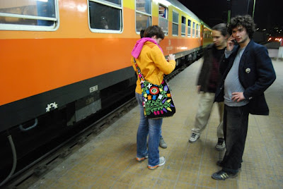 rencontre dans un train de nuit