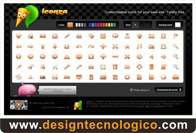 ícones sites