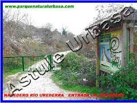 Nº 2 - La Portalonga y el Panel Informativo Grande, Reserva Natural del Río Urederra. Parque Natural Urbasa. Ruta de las Cascadas desde Baquedano, Centro de Turismo Rural y Agroturismo  Casa Rural Navarra Urbasa Urederra. Ven a conocernos… te sorprenderás